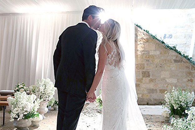 This Is What Lauren Conrad's Wedding Dress Looked Like