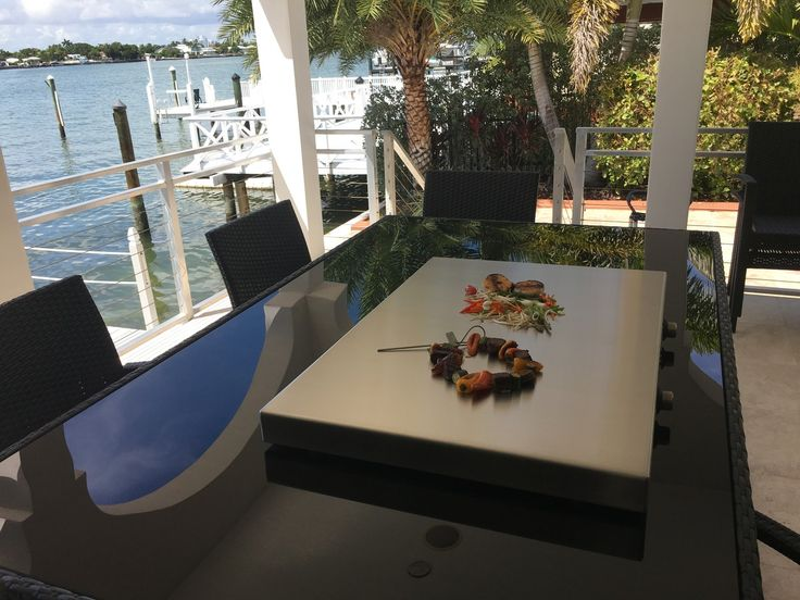 #midweekbreak calls for some outdoor kitchen action by the water.