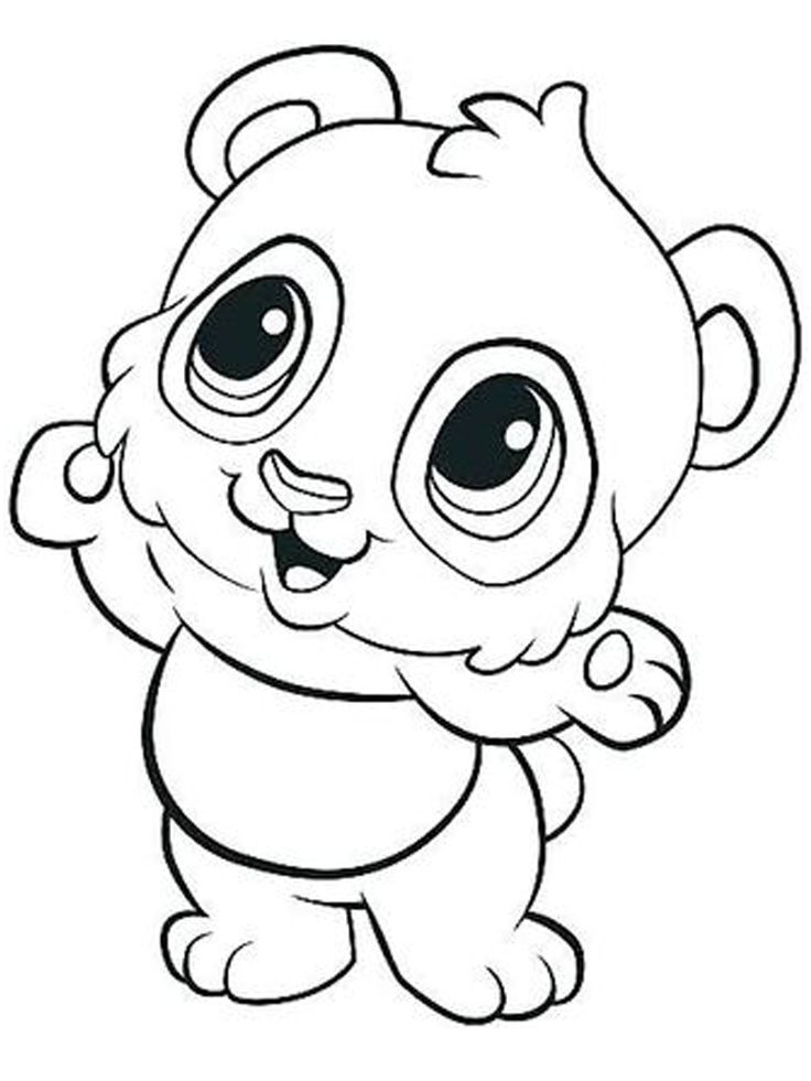 Printable Panda Coloring Pages For Kids - Free Coloring ...