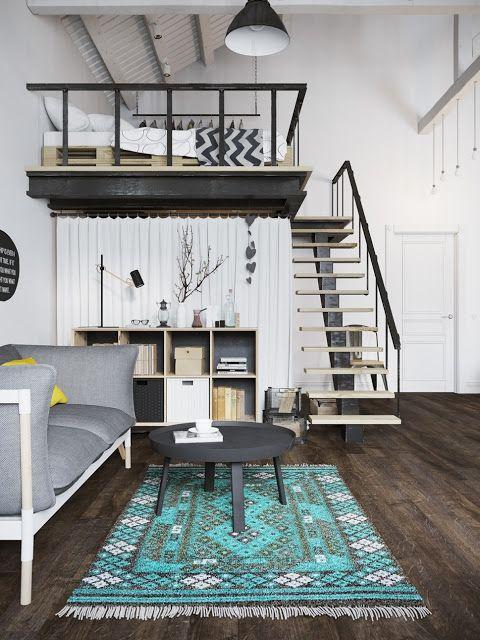 decordemon: Tiny loft in Prague