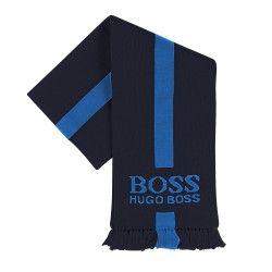 HUGO BOSS - Echarpe bleue