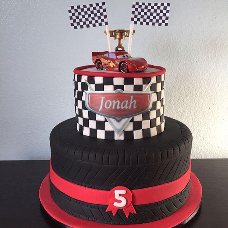 "8 Likes, 2 Comments - Orange County, CA (@marthas_cupcakes) on Instagram: ""Cars Cake #carscake #lightingmcqueencake #disneycarscake #marthascupcakes"""