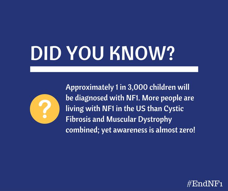 Our mission is to bring Neurofibromatosis Type 1 (#NF1) out of the darkness! Join us in our fight to #EndNF1!