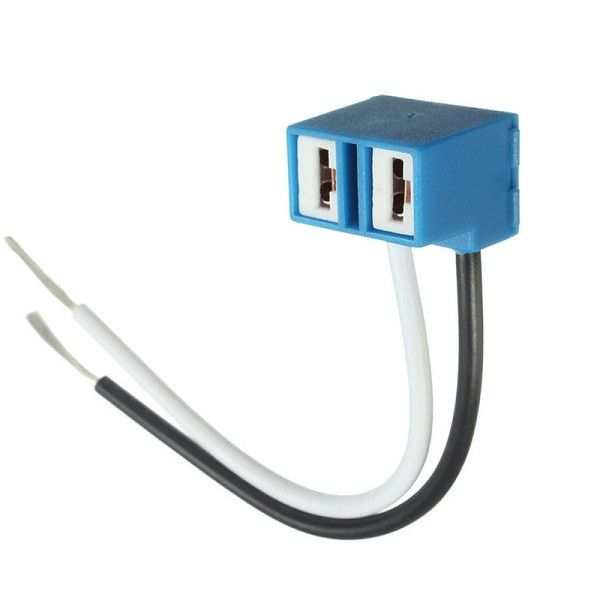 H7 Headlight Bulb Socket Outlet Cceramic Lamp Base Car Bulb Socket