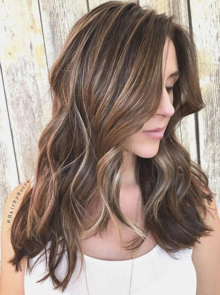 50 Light Brown Hair Color Ideas With Highlights And Lowlights Light brown hair with highlights looks softer than whole-colored brown Check a mix of co...
