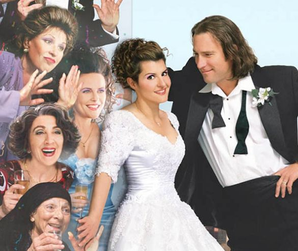 My Big Fat Greek Wedding. (2002). | 48 Of The Most Memorable Wedding Dresses From The Movies