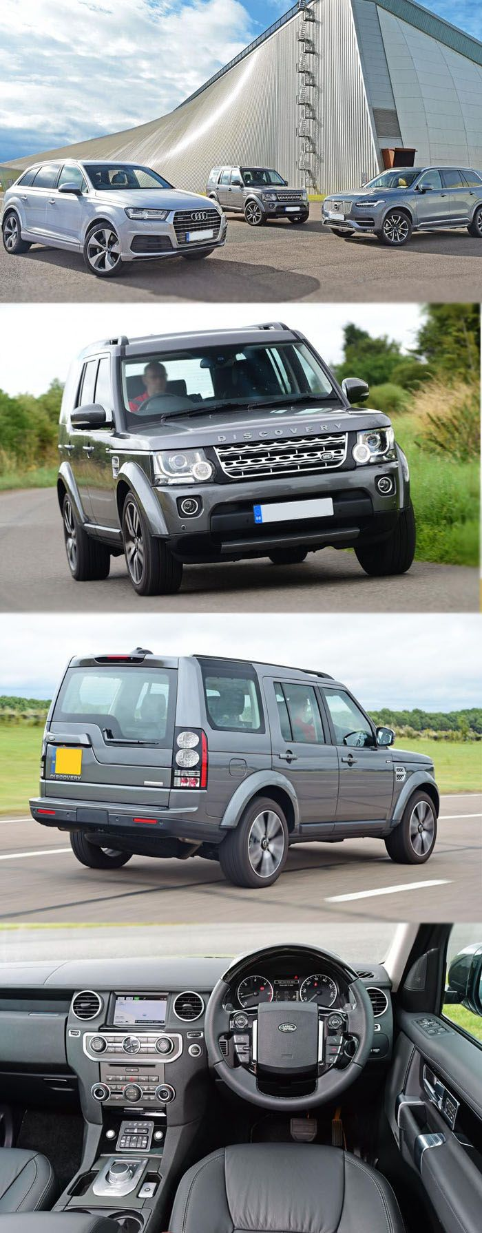 New land rover discovery to beat volvo xc90 and audi q7 for more detail https