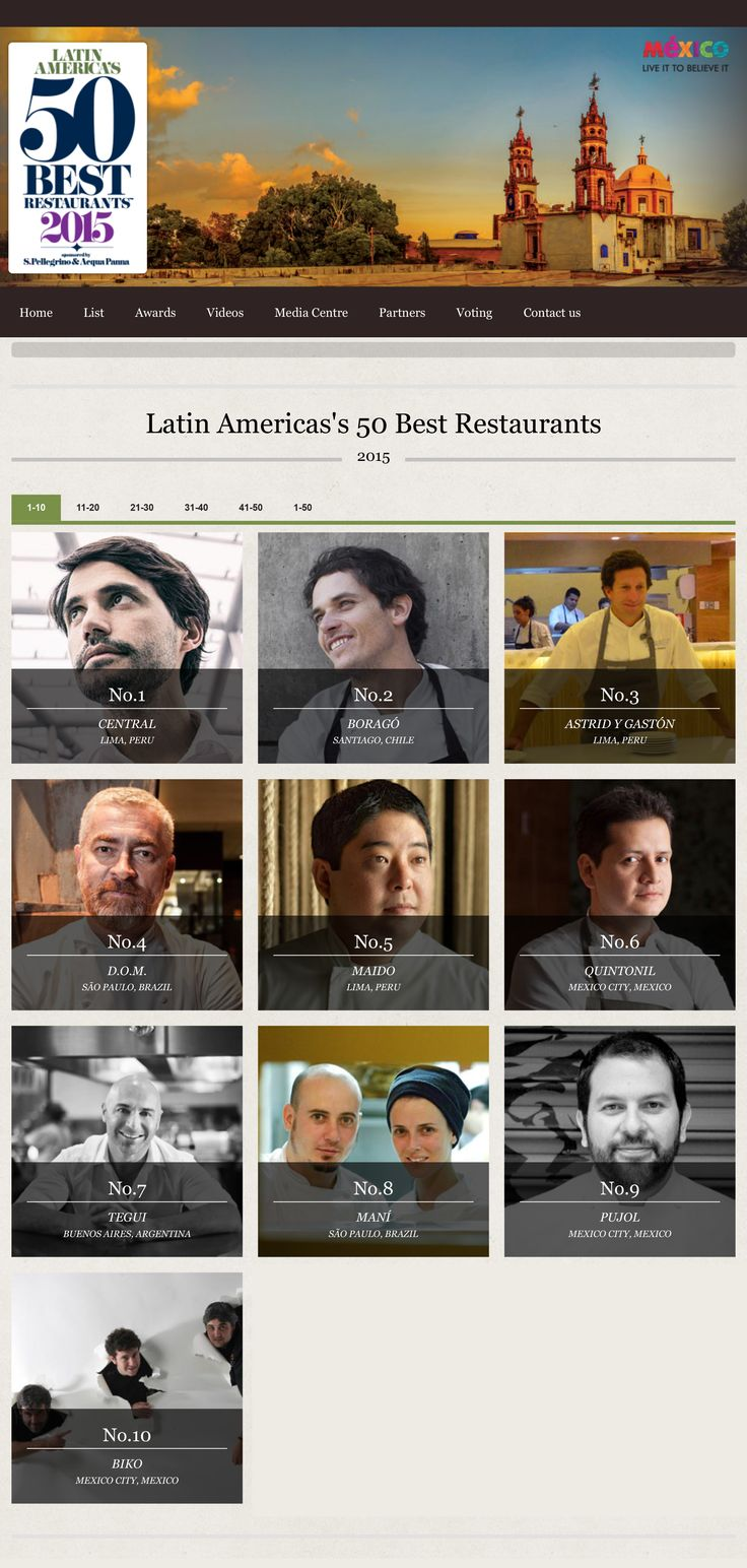 Boragó Restaurant in Santiago, Chile - Ranked 2015 2nd Best Among All Latin America's Restaurants | Latin America's 50 Best Restaurants 2015