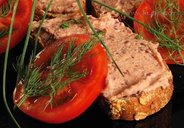 Pašteta od crvenog pasulja   Kuhinjica