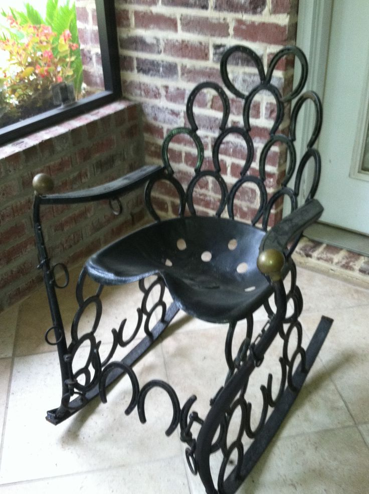 Horseshoe Chair Crafty Pinterest Horse Shoes