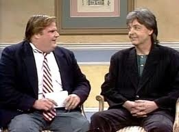 """The Chris Farley Show"" w/Paul McCartney ... this clip is their rehearsal"