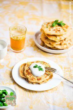 groente pannenkoeken met mais en courgette. Veggie kidz snel simpel en gezond koken en bakken voor je kinderen.