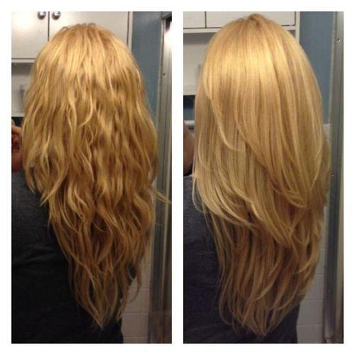 Résultat de recherche dimages pour \u0026quot;cheveux longs dégradés en v\u0026quot;