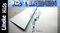 lineke kids 3d tekenen - YouTube