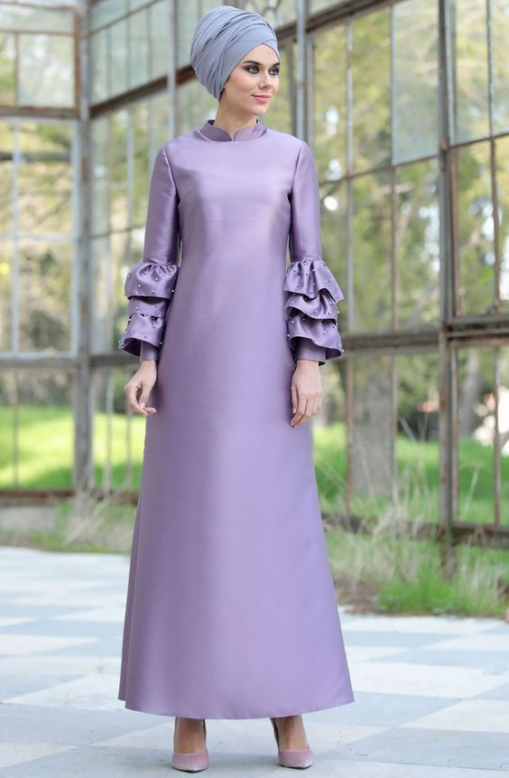 Frill abaya fashion is the greatest fashion of abaya that will love you. Frill styling long flare ab