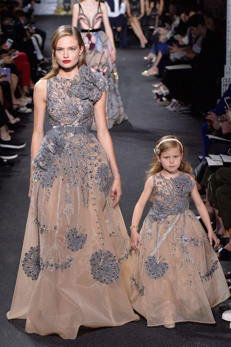Elie Saab Fall 2016 Couture Fashion Show - Anna Mila Guyenz (IMG)