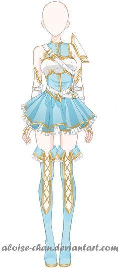Resultado de imagen para diseño de vestuario soldado anime
