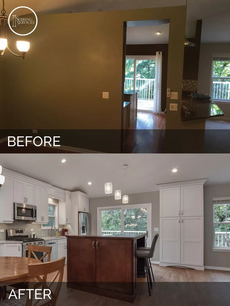 Kitchen Cabinet Remodel Before And After 88 best before & after: kitchen remodeling projects images on