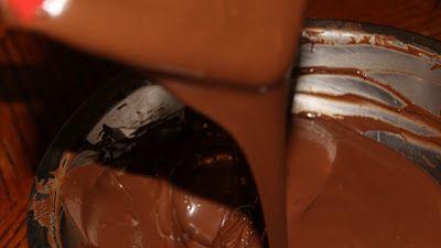 Mundo Bizcocho: Como templar el chocolate (chocolate fundido) y como hacer figuras simples con chocolate