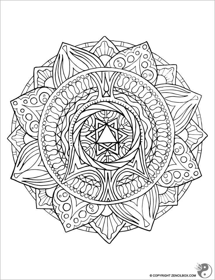 Your Weekly Coloring Page The Flower Awakens
