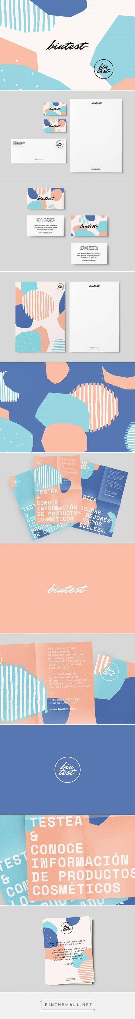 BIUTEST Online Beauty Community Branding by Dum Dum Design Office | Fivestar Branding Agency – Design and Branding Agency & Curated Inspiration Gallery