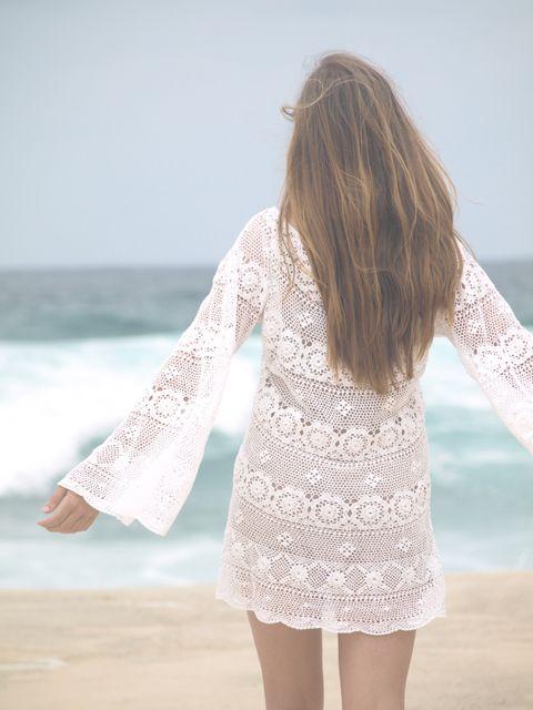 Free Pattern: DIY One Hour Crochet Wedding Dress