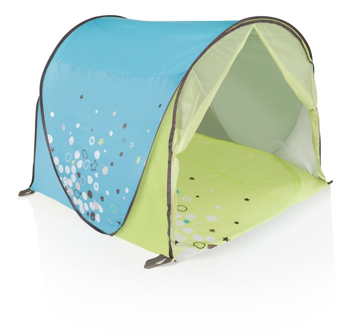 Anti-UV tent:  To protect your baby from sun, sand and wind!  Babymoov