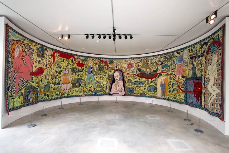 Grayson Perry's Walthamstow Tapestry