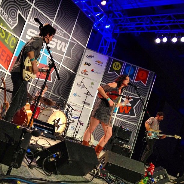 As Jason Bentley said upon introduction, we're immediately taken by the sound of HoneyHoney here at SXSW Festival.    Follow the highlights at http://sxsw.kcrw.com/