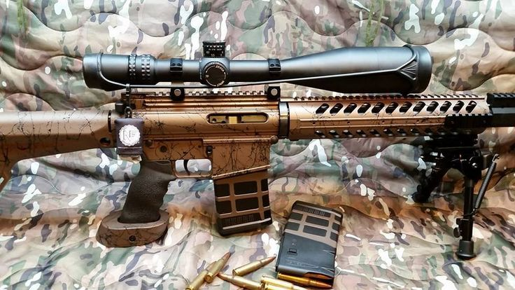 DuraCoat Firearm Finishes - AR15 refinished in Copper. Find out how to refinish your gun at home or have it done by a Certified Finisher!