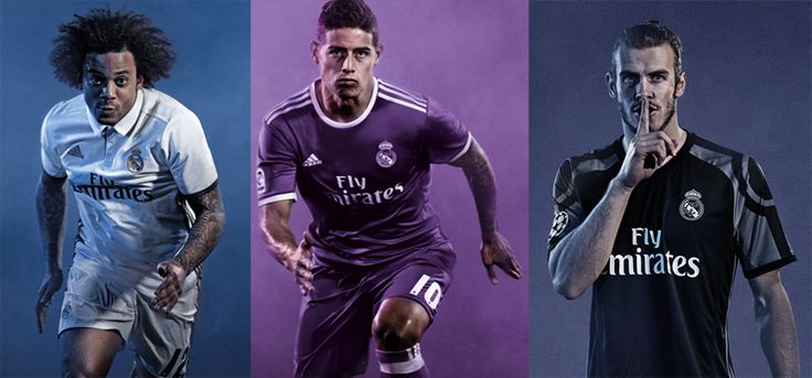 Camisas do Real Madrid 2016-2017 Adidas