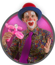 The Clown, Clown Service, Clown for hire, Clown