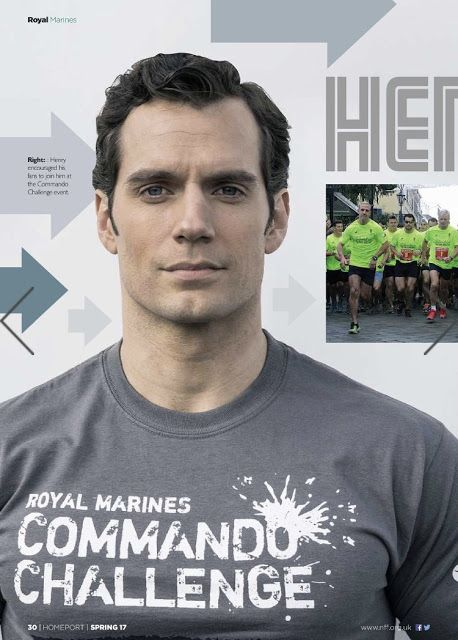 The spring issue of Homeport has arrived, and it features Henry's work as ambassador for The Royal Marines Charity.  via Henry Cavill News