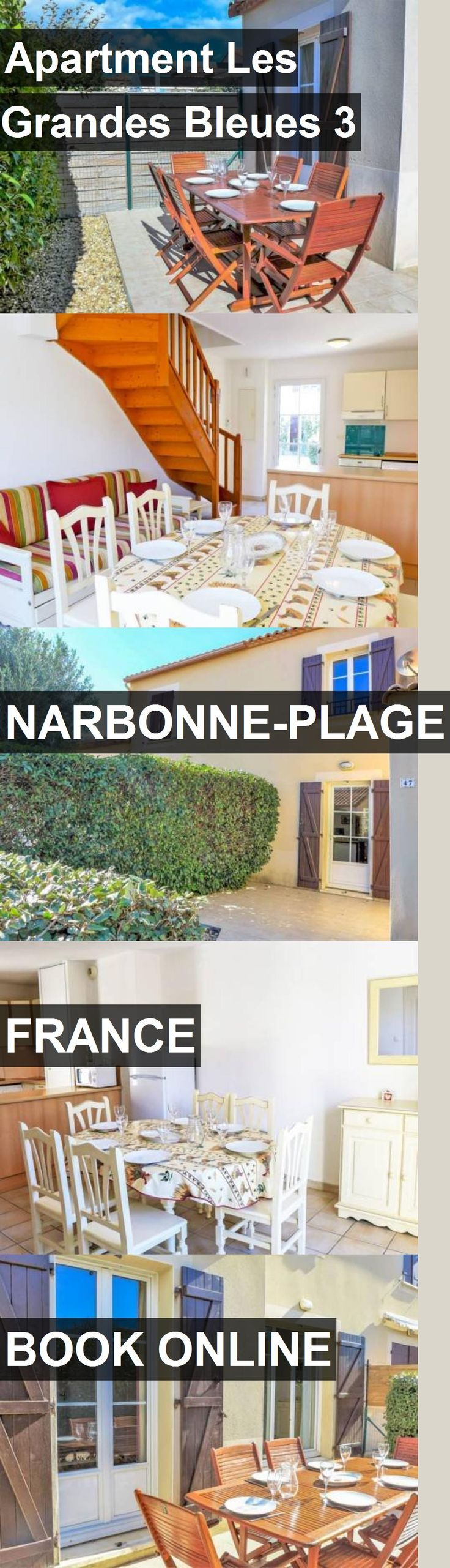 Apartment Les Grandes Bleues 3 in Narbonne-Plage, France. For more information, photos, reviews and best prices please follow the link. #France #Narbonne-Plage #travel #vacation #apartment