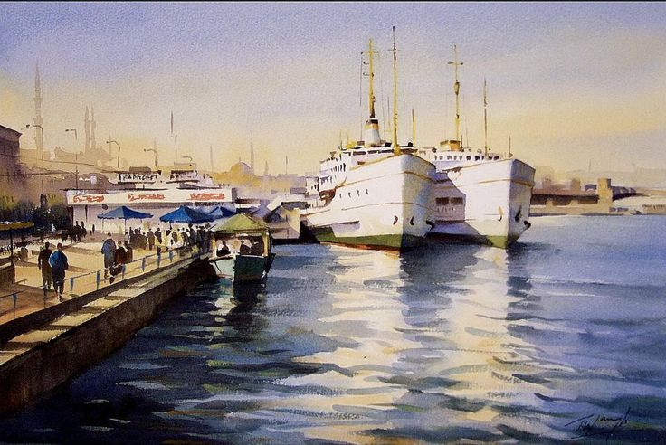 Trevor Waugh - Ferries in Istanbul
