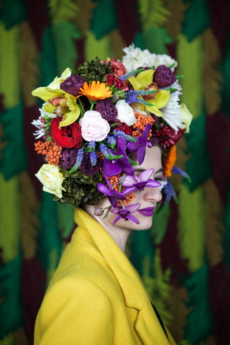 flowers, headpiece, fashion