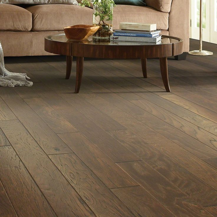 Victorian Hickory 48 Engineered Hardwood Flooring In Ginger