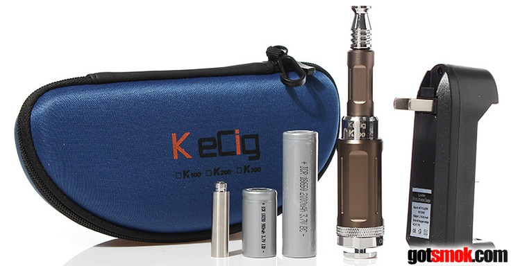 I feel like FastTech's official pimp page. It seems like I'm pointing out a FastTech almost every day. And, today is no different. They just released the Kamry K101 Starter Kit for... http://gotsmok.com