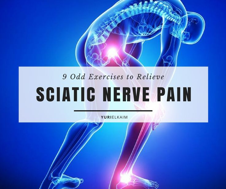 "The sciatic nerve begins in the lower back where it joins with several ""branches"" of nerves to form one large nerve that runs all the way down through your buttocks to your feet, making it the largest single nerve in the body. Consequently, those who suffer with sciatic pain understand just how uncomfortable it really is. If you're one of them, these 9 exercises will give you some relief. 