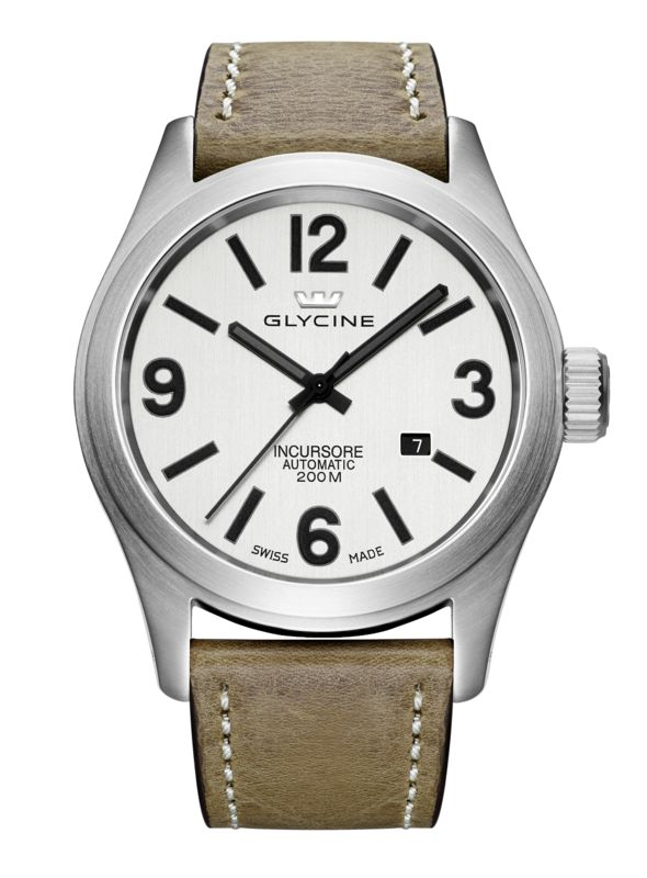 GLYCINE INCURSORE Ref. 3874.11.LB7BH 46MM Automatic - Swiss made watches - SwissTime