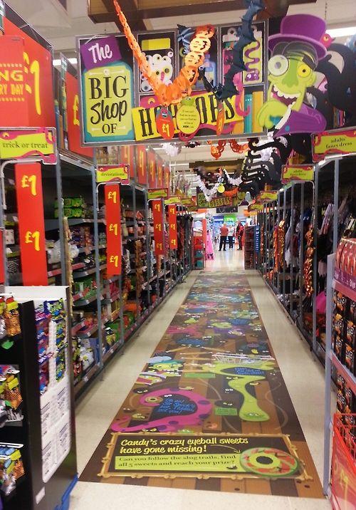 christmas aisle installation by ruck retail solutions asda 2013 wwwruckltd