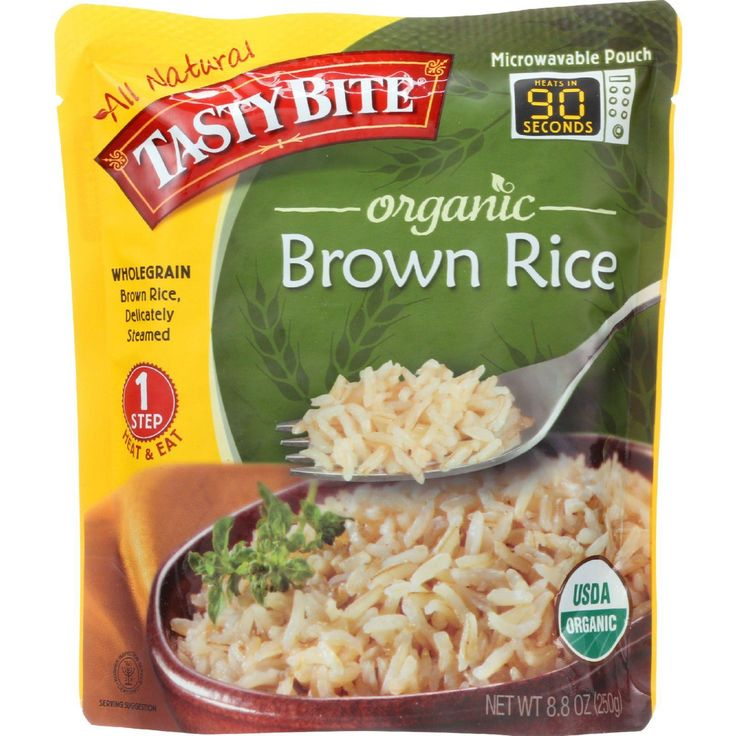 Tasty Bite Rice - Organic - Brown - 8.8 Oz - Case Of 6