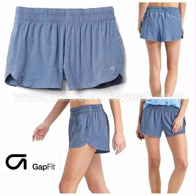 GapFit gSprint heather shorts - Comet Blue