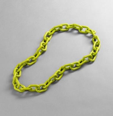 Shop Our Shoots: link necklaces - Kenneth Cole, Resin Oversize Link Necklace, $65