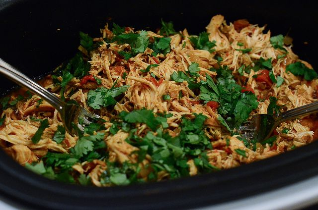 Crock Pot Chicken Tacos by From Valerie's Kitchen, via Flickr