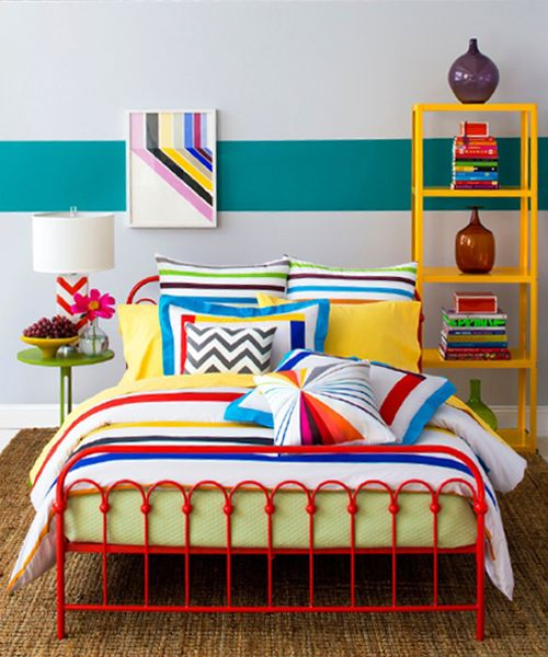 Very Colorful Bedroom: 25+ Best Ideas About Bright Colored Bedrooms On Pinterest