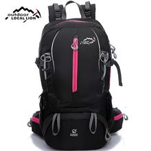 Waterproof Nylon Outdoor Sports Backpack Unisex Mountaineering Climbing Trekking Camping Hiking Bags 40L DS02  $US $41.27 & FREE Shipping //   https://fishinglobby.com/waterproof-nylon-outdoor-sports-backpack-unisex-mountaineering-climbing-trekking-camping-hiking-bags-40l-ds02/    #fishingrods