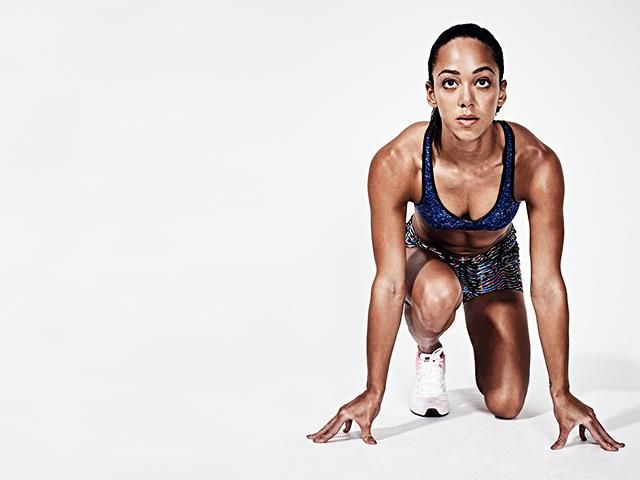 katarina johnson thompson fat burn workout