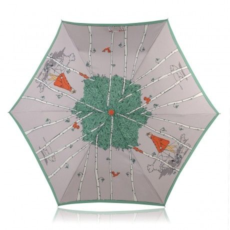 Leader Of The Pack  Mini Crook Handle Telescopic > Buy Umbrellas Online at Radley  That's a cute design
