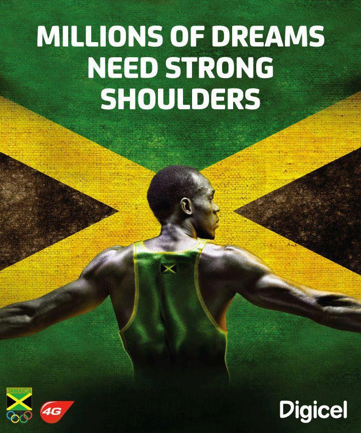 millions of dreams need strong shoulders